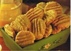 Golden Honey Biscuits